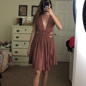 NWOT Free People Feel the Flava Fit & Flare Dress